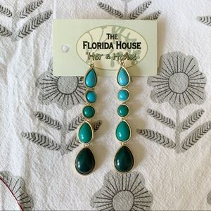 Jewelry - NWT Turquoise Drop Earrings